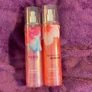 Bath and Body Works diamond shimmer mist, set of 2
